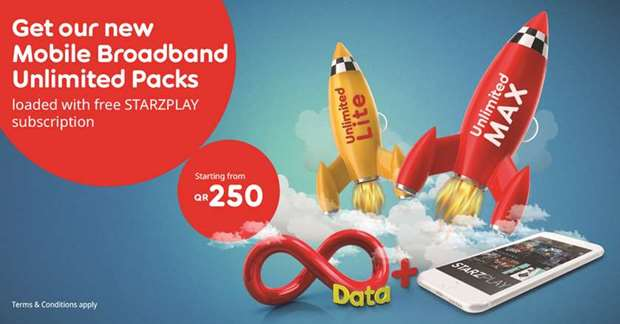 Ooredoo announces new Unlimited Mobile Broadband Packs | Whats Up