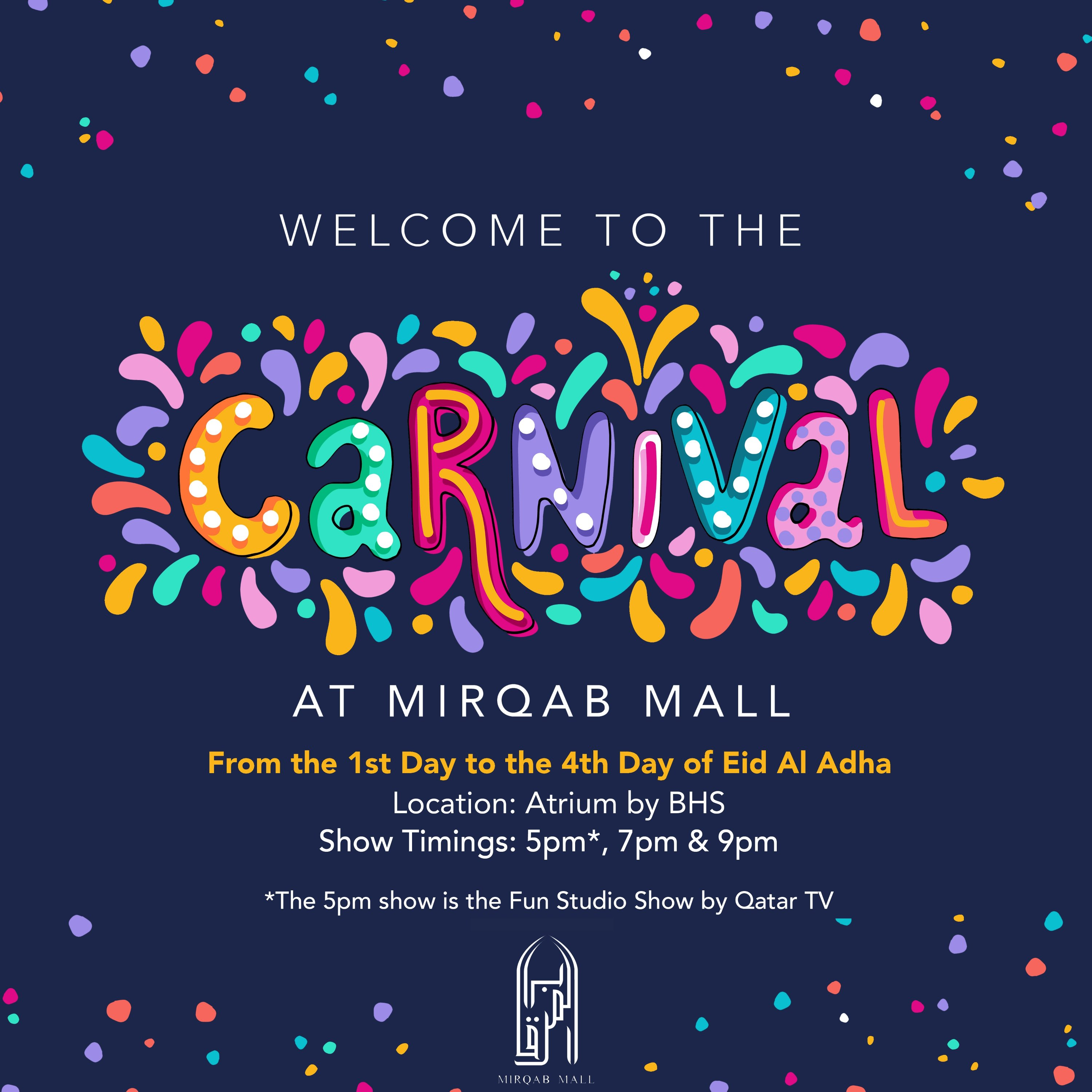 Mirqab Mall Brings the Carnival to Doha for Eid Al Adha